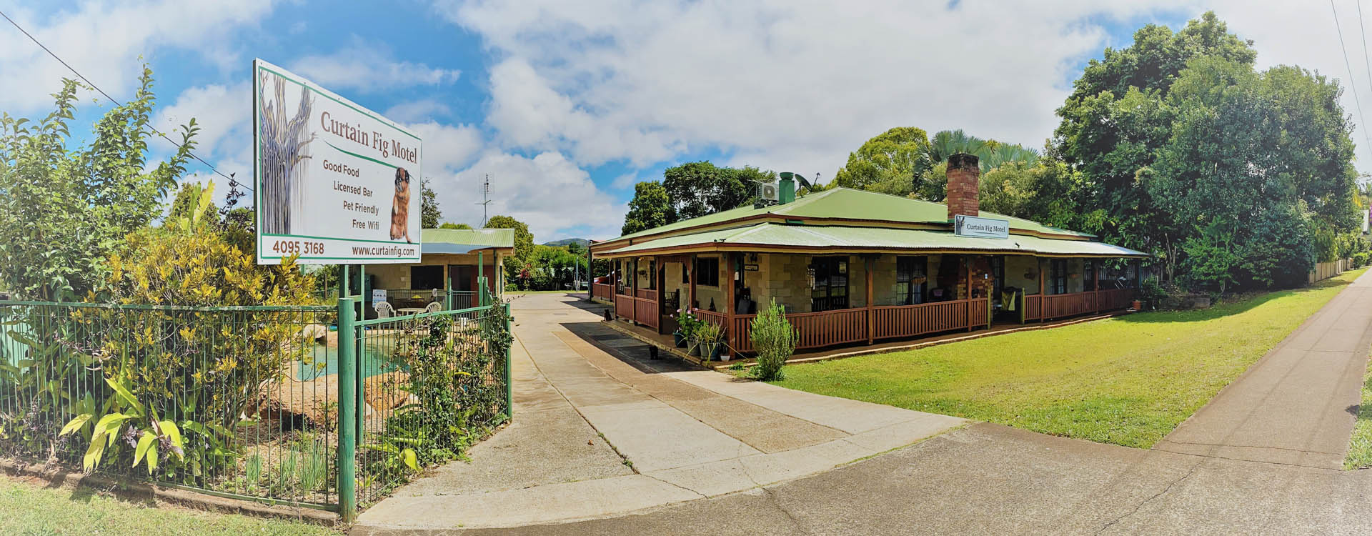 Centrally located in the heart of the historic village of Yungaburra.